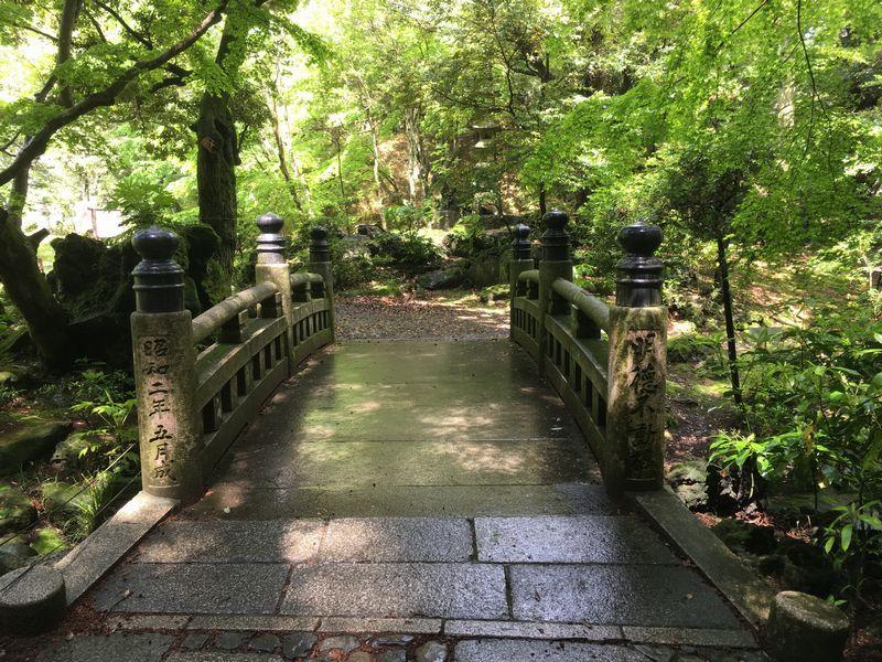 成田山新勝寺 成田山公園 明徳不動橋