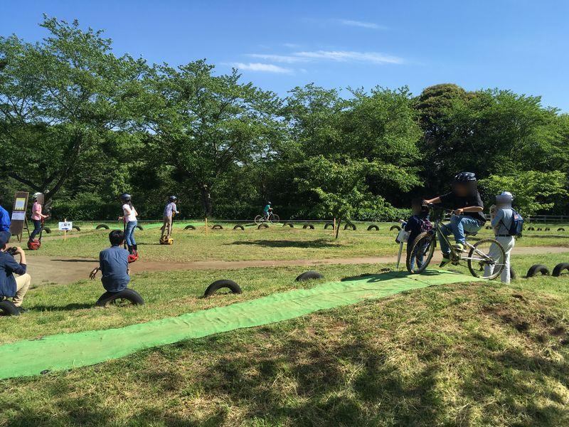 成田ゆめ牧場 モトクロス自転車 セグウェイ