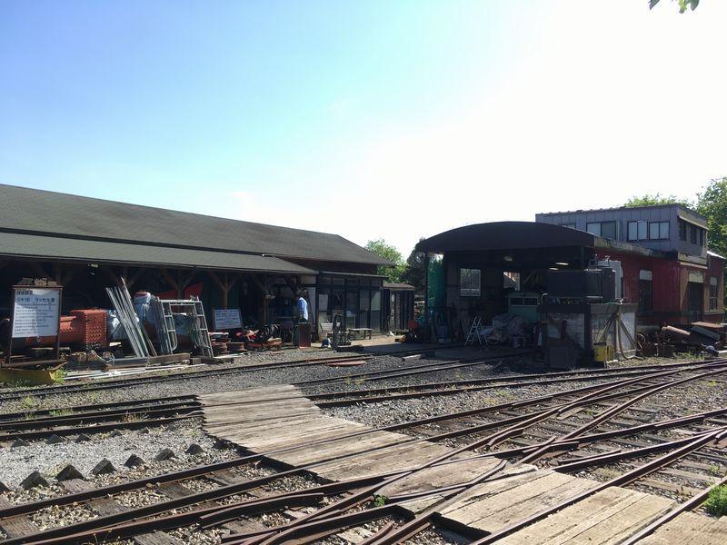成田ゆめ牧場 トロッコ列車 線路