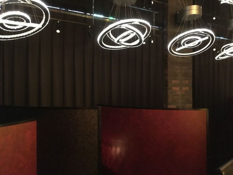 The PRIVATE LOUNGE (ザ プライベート ラウンジ) 赤坂店 店内の様子 照明