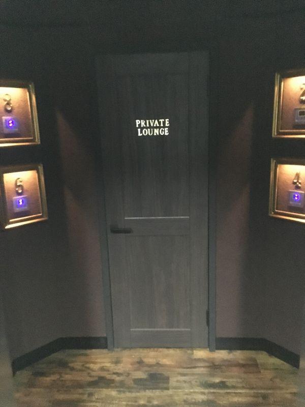 The PRIVATE LOUNGE (ザ プライベート ラウンジ) 赤坂店 入り口