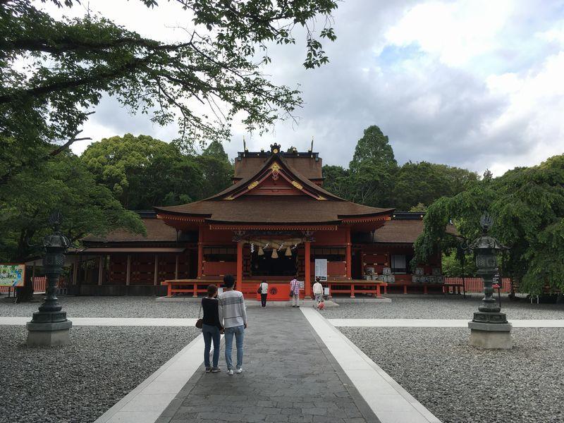 富士宮 富士山本宮浅間大社 拝殿