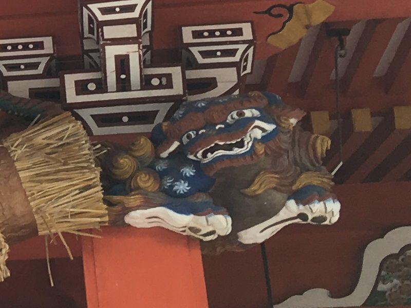 富士宮 富士山本宮浅間大社 拝殿 彫刻
