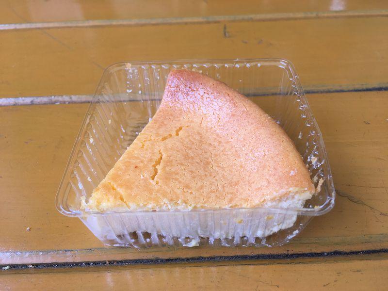 まかいの牧場 富士山チーズケーキ(プチ) カット