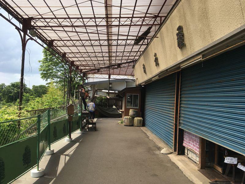 富士宮 白糸ノ滝 音止の滝 お店