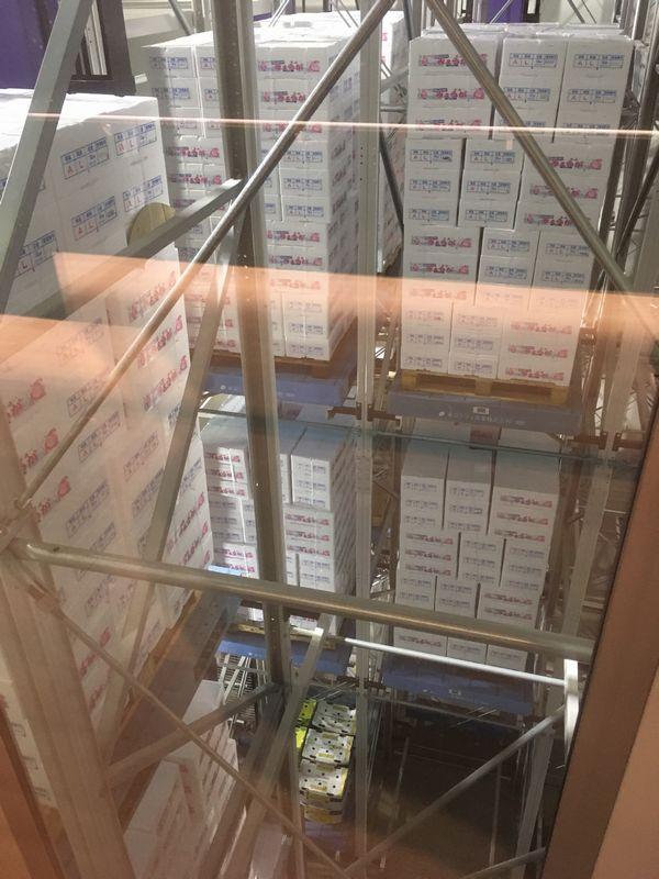 豊洲市場 青果棟 自動立体低温倉庫