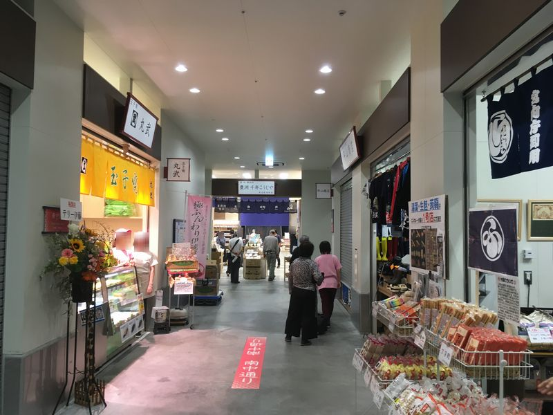 豊洲市場 水産仲卸売場棟 物販店舗エリア