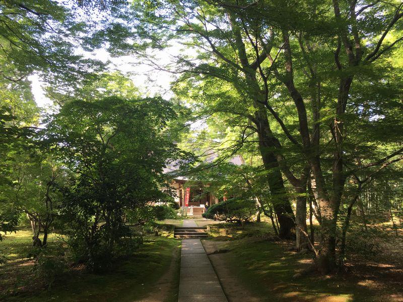 平泉 中尊寺 大長寿院