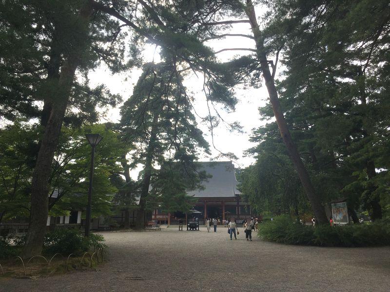 平泉 毛越寺 本堂