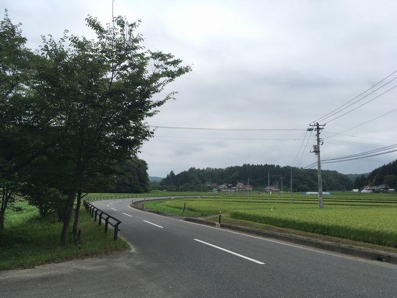 平泉 達谷窟毘沙門堂への道