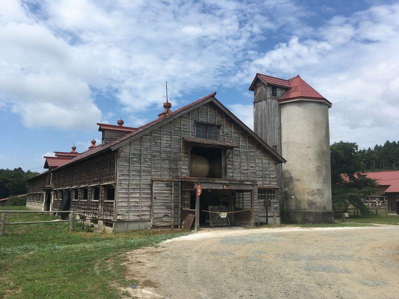 小岩井農場 上丸牛舎 二号牛舎