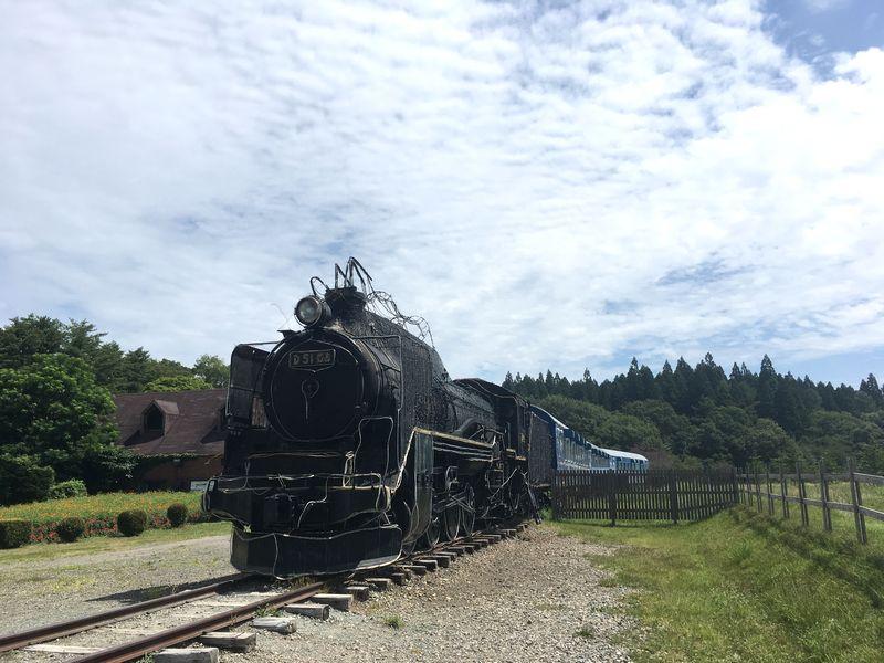 小岩井農場 SL D51形式蒸気機関車