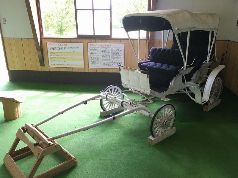 小岩井農場 まきばのホール 白い馬車