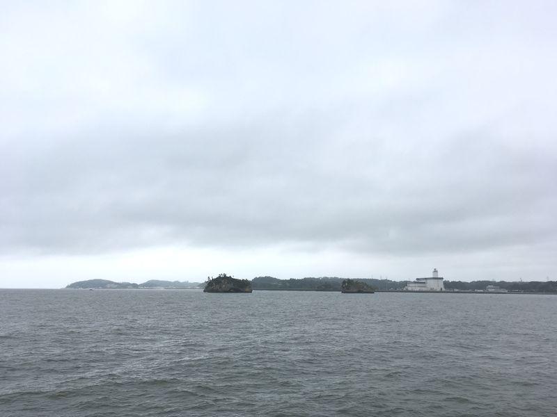 松島 遊覧船 松島島巡り観光船 仙台火力発電所