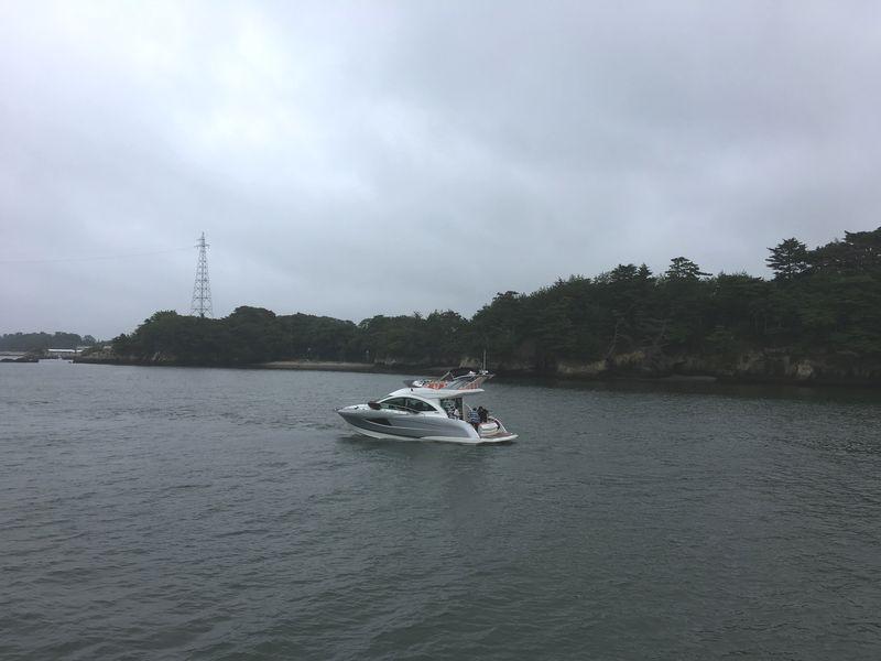 松島 遊覧船 松島島巡り観光船 釣り