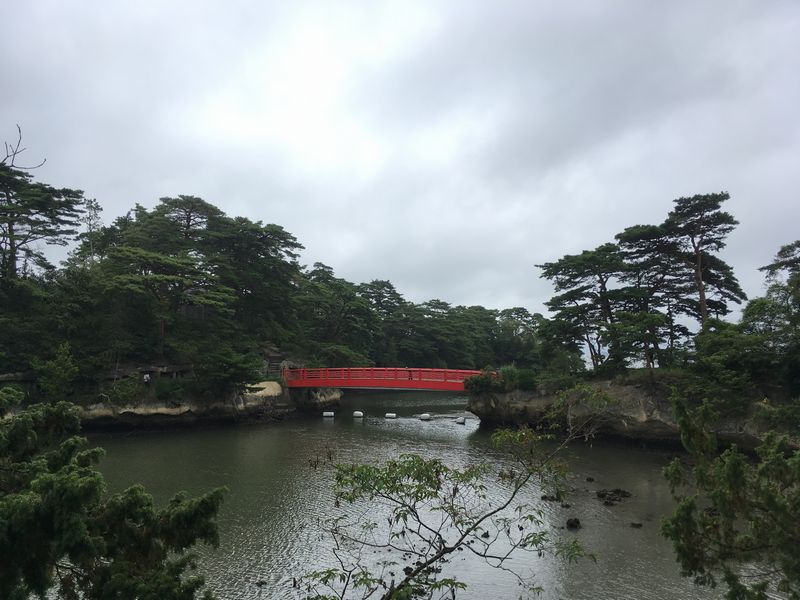 松島 雄島 渡月橋 悪縁を絶つ縁切り橋