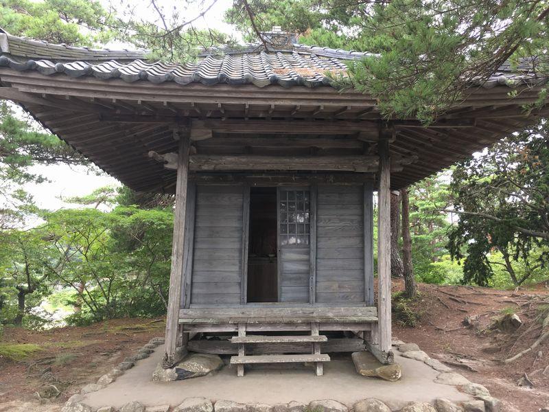 松島 雄島 座禅堂