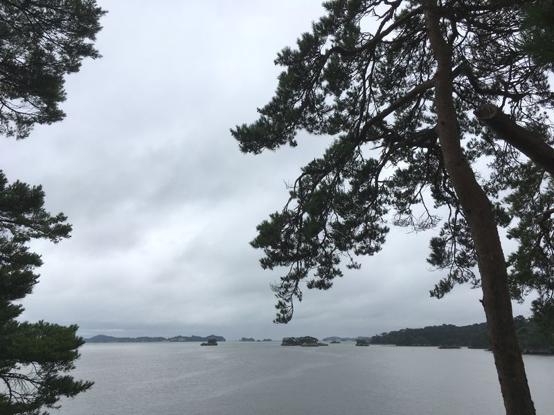 松島 雄島からの景色
