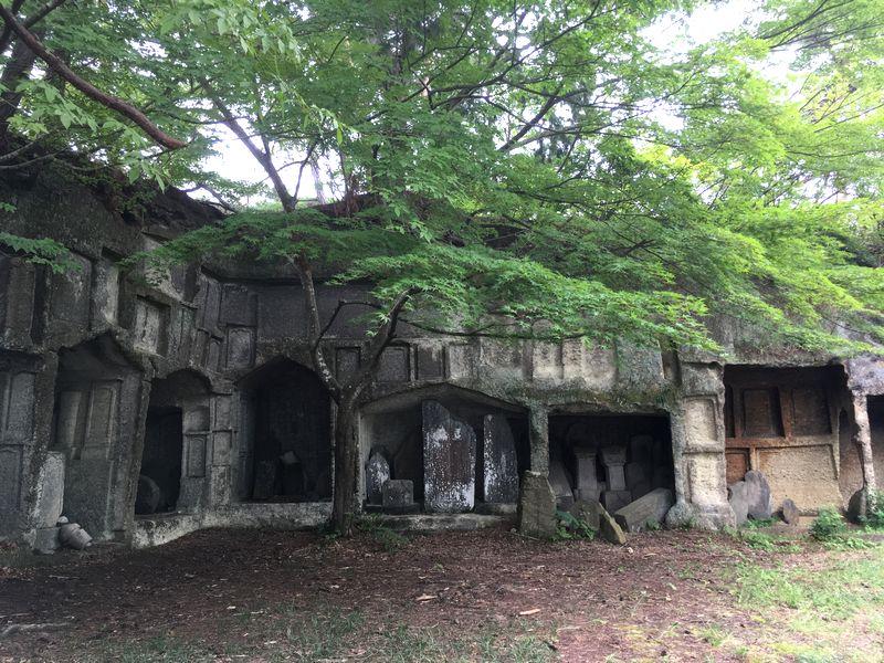 松島 雄島 岩窟