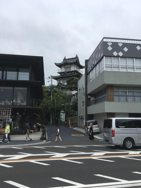 松島 日本三景展望台 お城