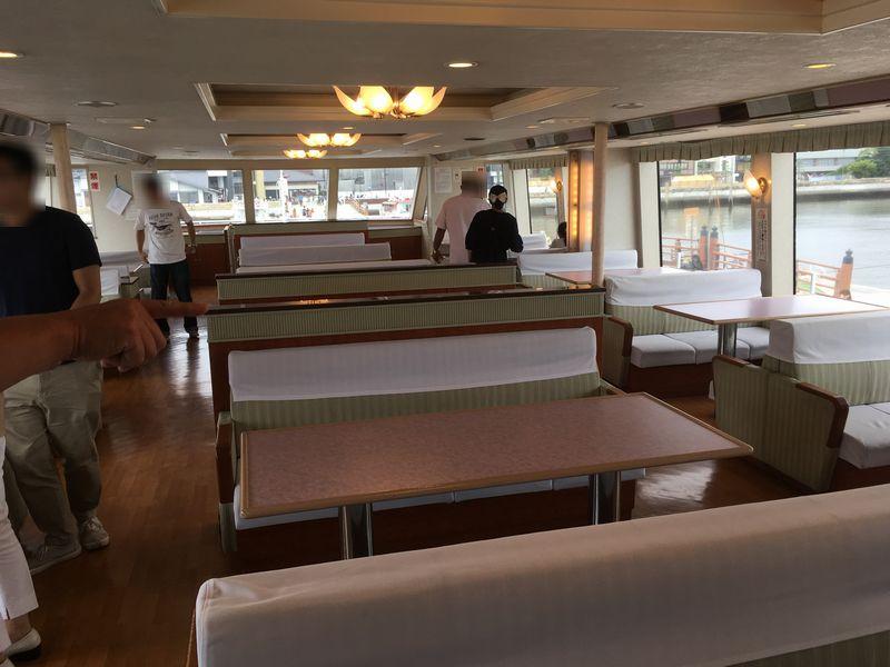 松島 遊覧船 松島島巡り観光船 グリーン席 2階