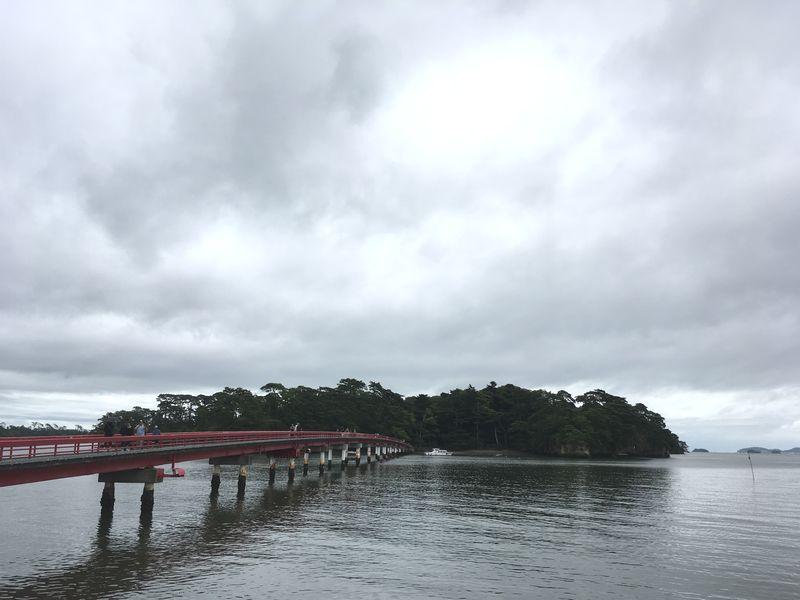 松島 福浦島 福浦橋 出会い橋