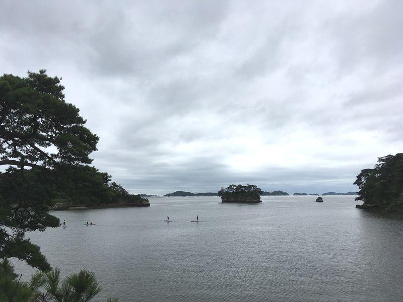 松島 福浦島 海 SUP