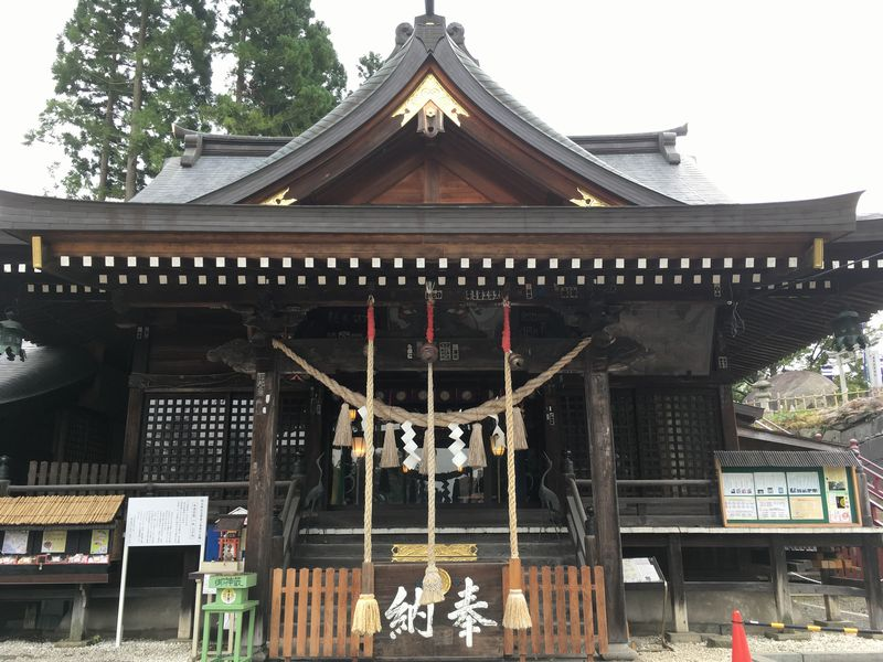 盛岡 桜山神社(櫻山神社) 拝殿