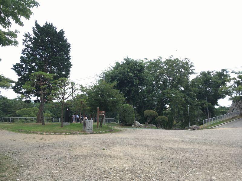 盛岡城跡公園 三ノ丸