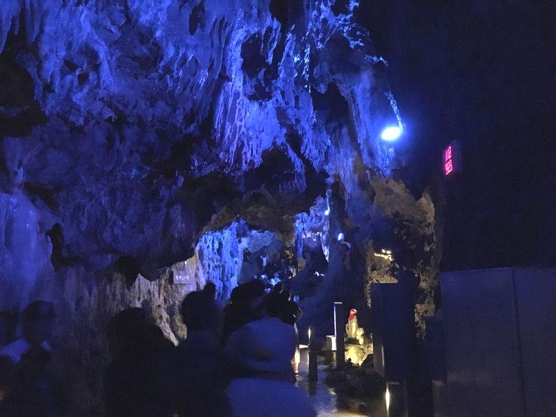 龍泉洞 鍾乳洞 月宮殿