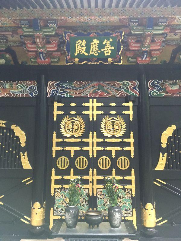 仙台 瑞鳳殿 善応殿