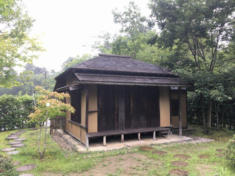 仙台城 青葉城 残月亭 茶室
