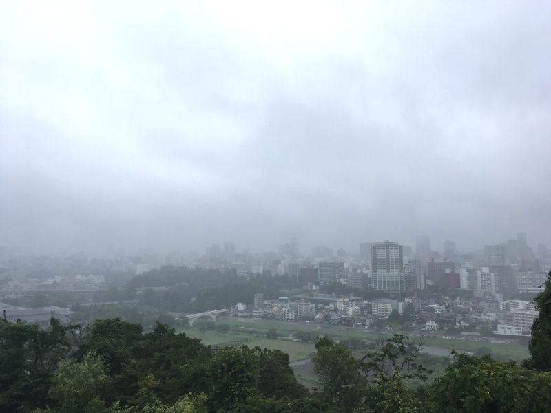 仙台城 青葉城 景色