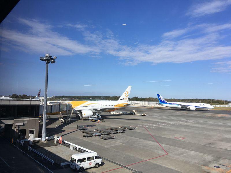 タイ バンコク ノックスクート 格安航空会社 飛行機 空港