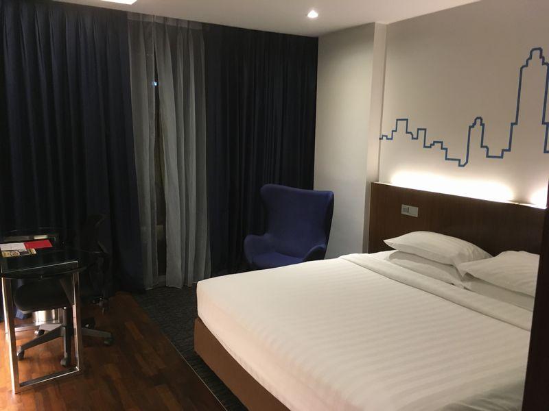 タイ バンコク ホテル Galleria 10 Sukhumvit Bangkok (ガレリア 10 スクンビット バンコク) 部屋