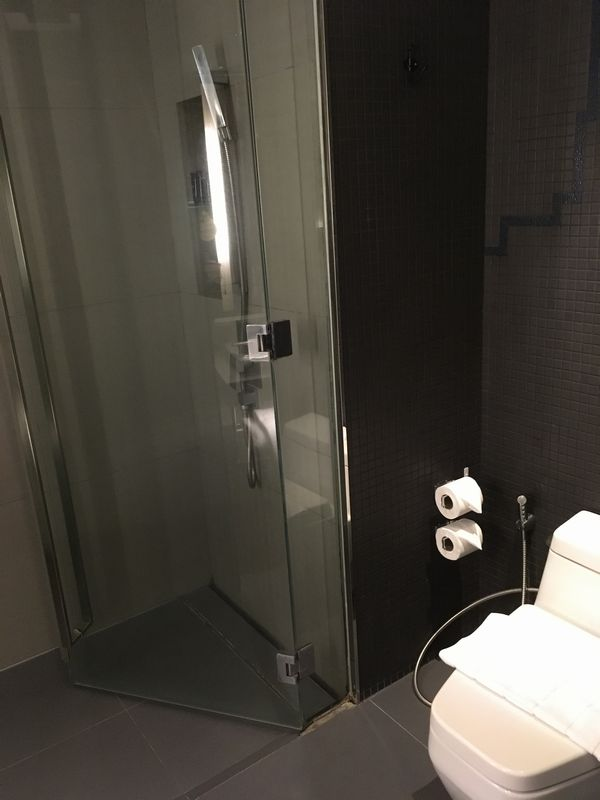 タイ バンコク ホテル Galleria 10 Sukhumvit Bangkok (ガレリア 10 スクンビット バンコク) バスルーム トイレ