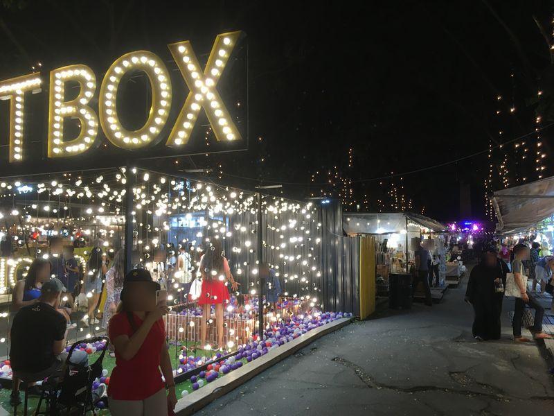 タイ バンコク ナイトマーケット ARTBOX アートボックス