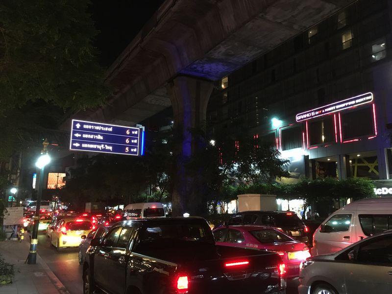 タイ バンコク 道路