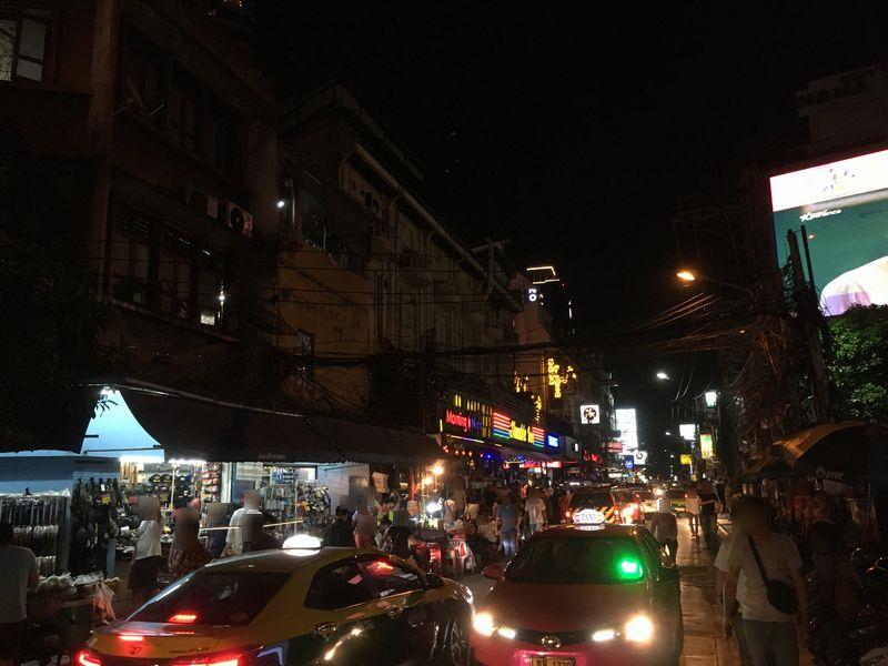 タイ バンコク ナナプラザの通り スクンビット