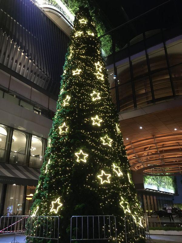 タイ バンコク クリスマスツリー