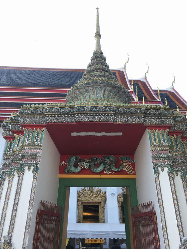タイ バンコク ワット・ポー 入口