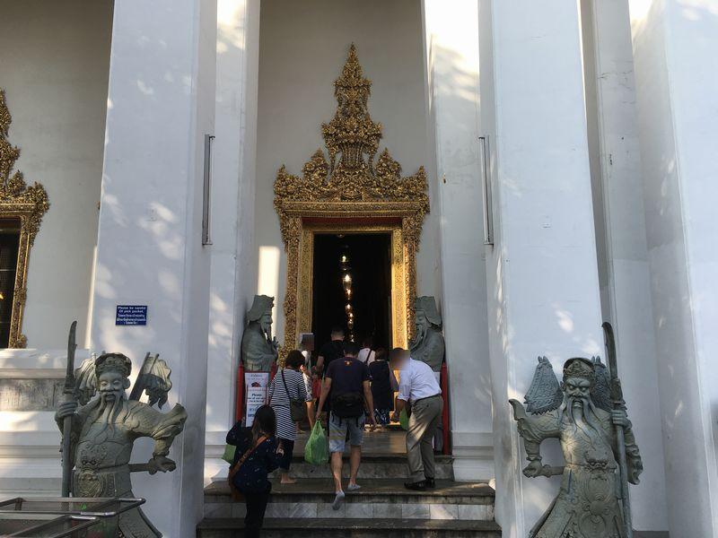 タイ バンコク ワット・ポー 釈迦仏堂