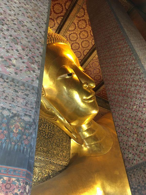 タイ バンコク ワット・ポー 釈迦仏堂 大寝釈迦仏