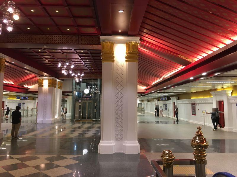 タイ バンコク MRT サナム・チャイ駅 サナームチャイ駅 Sanam Chai