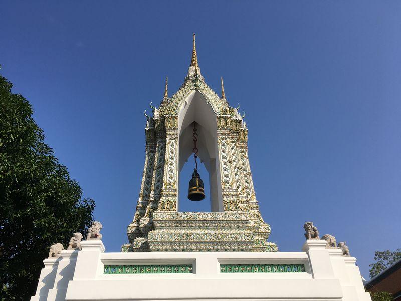 タイ バンコク ワット・ポー 梵鐘
