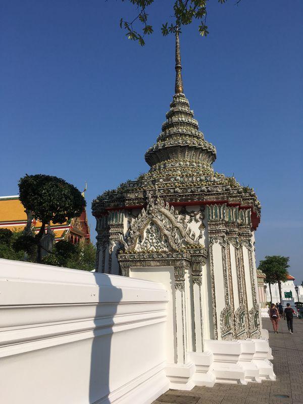 タイ バンコク ワット・ポー 壁