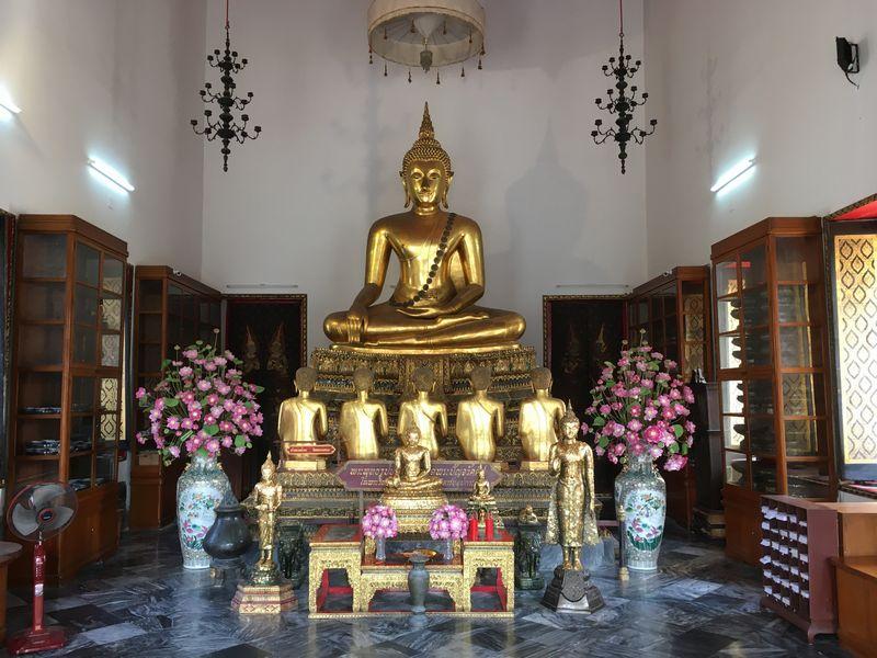 タイ バンコク ワット・ポー 仏像