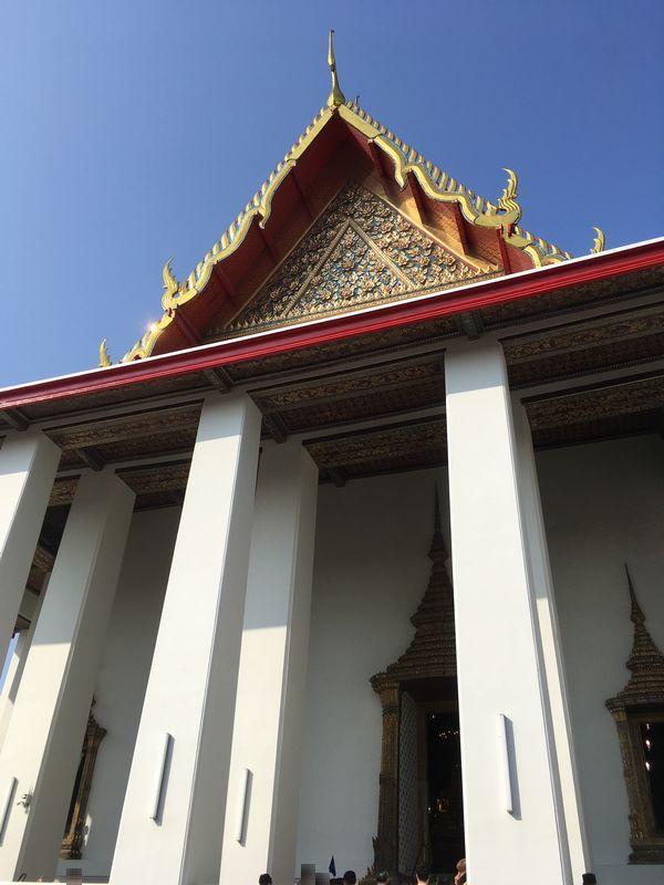 タイ バンコク ワット・ポー 本堂