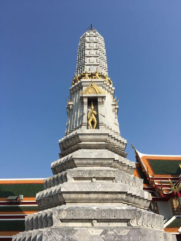 タイ バンコク ワット・ポー 塔