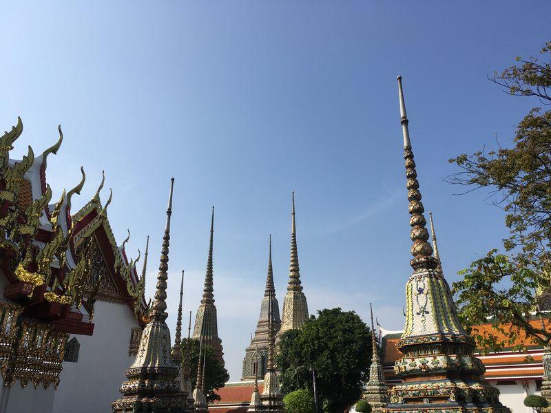 タイ バンコク ワット・ポー 仏塔